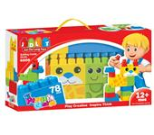 BUILDING BLOCKS 78 PCS
