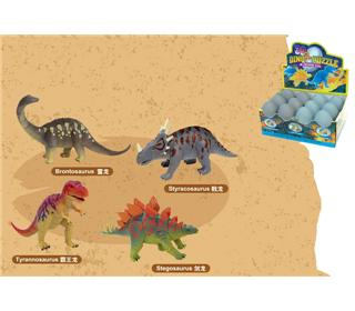 THE FIRST GENERATION OF DINOSAUR TOYS