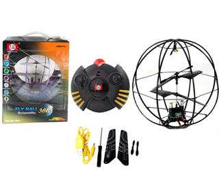 3CH WITH GYRO R/C QUADCOPTER