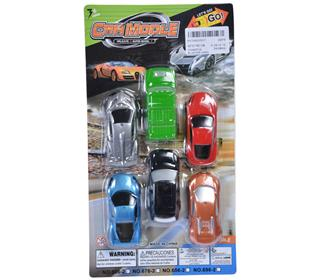 pull back car 6pcs