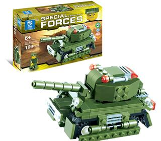 169PCS MILITARY FIGHTER ASSEMBLED BUILDING BLOCKS